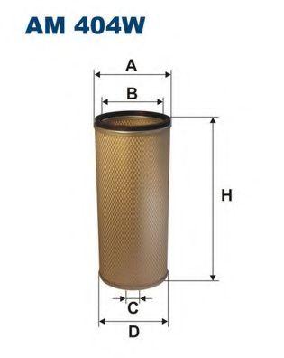 Фильтр добавочного воздуха FILTRON AM404W