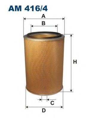 Воздушный фильтр FILTRON AM416/4