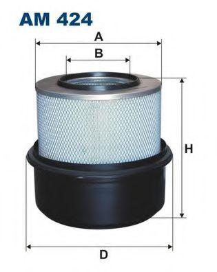 Воздушный фильтр FILTRON AM424