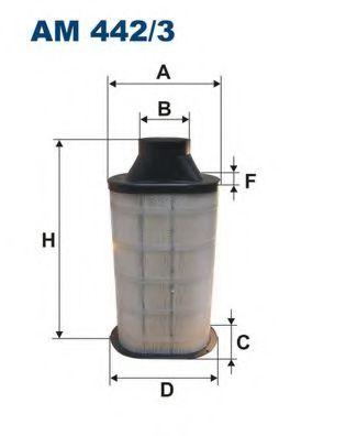 Воздушный фильтр FILTRON AM442/3