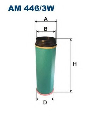 Воздушный фильтр FILTRON AM446/3W
