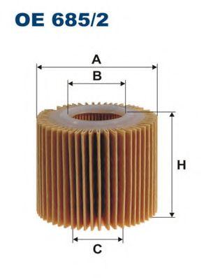Масляный фильтр FILTRON OE685/2