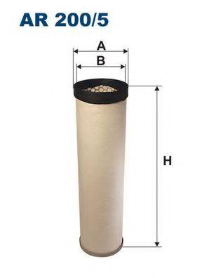 Фильтр добавочного воздуха FILTRON AR200/5W