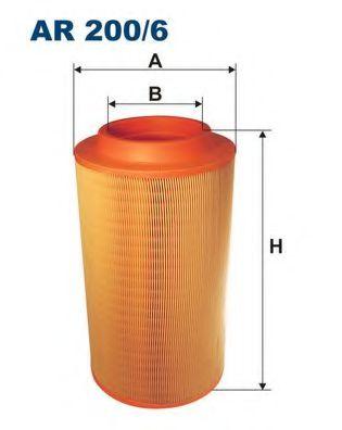 Воздушный фильтр FILTRON AR200/6