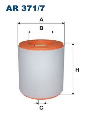 Воздушный фильтр FILTRON AR371/7