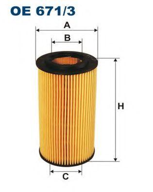 Масляный фильтр FILTRON OE671/3