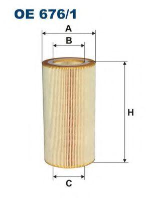 Масляный фильтр FILTRON OE676/1
