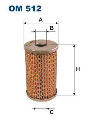 Фильтр масла гидроусилителя (ГУР) FILTRON OM512