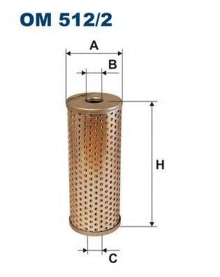 Масляный фильтр FILTRON OM512/2
