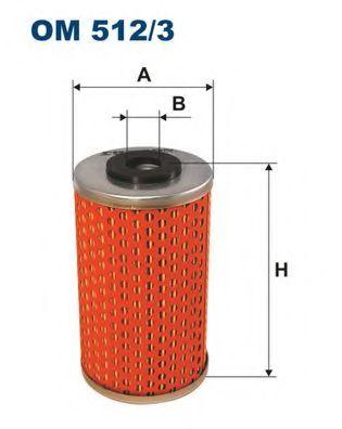 Масляный фильтр FILTRON OM512/3