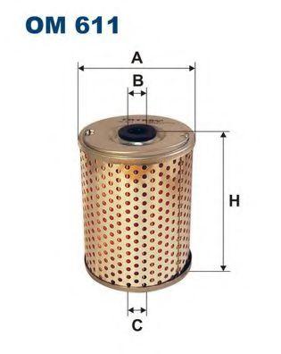 Фильтр масла гидроусилителя (ГУР) FILTRON OM611