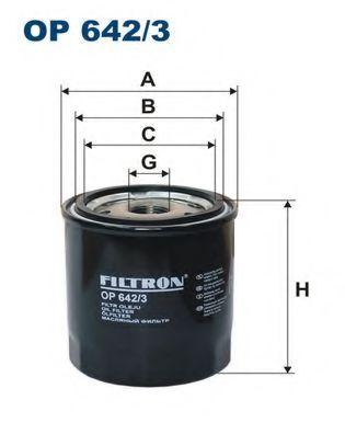Масляный фильтр FILTRON OP642/3
