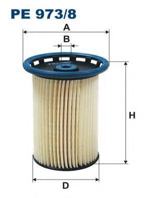 Топливный фильтр FILTRON PE973/8