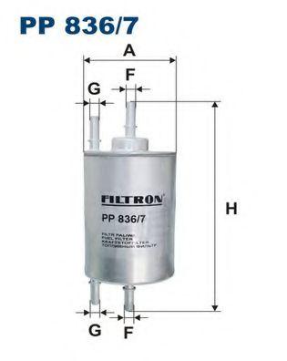 Топливный фильтр FILTRON PP836/7