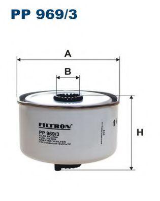 Топливный фильтр FILTRON PP969/3
