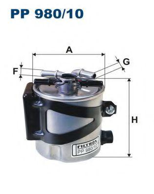 Топливный фильтр FILTRON PP980/10