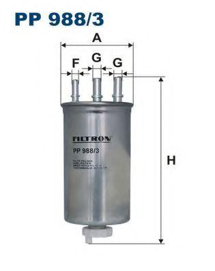 Топливный фильтр FILTRON PP988/3