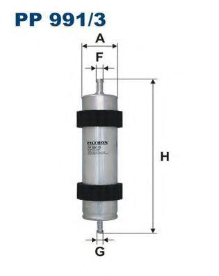 Топливный фильтр FILTRON PP991/3