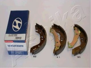 Тормозные колодки ASHIKA 55-05-595