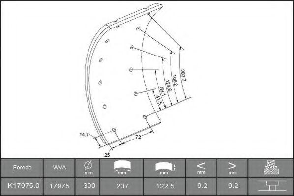 Тормозные колодки BERAL 1735109306015613