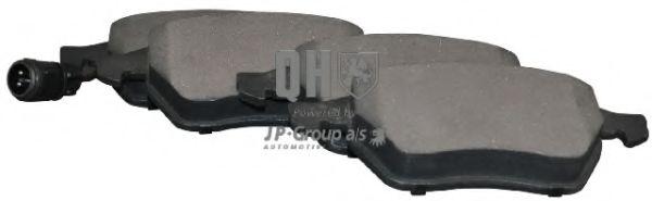 Тормозные колодки JP GROUP 1163605219