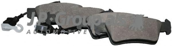 Тормозные колодки JP GROUP 1163706710