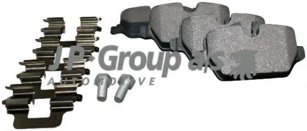 Тормозные колодки JP GROUP 1463700510