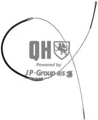 Трос ручника JP GROUP 8170300109