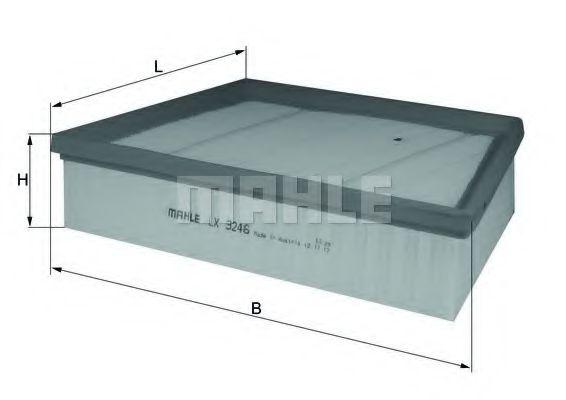 Воздушный фильтр MAHLE ORIGINAL LX 3246