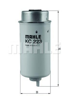 Топливный фильтр MAHLE ORIGINAL KC 223