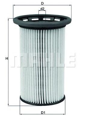 Топливный фильтр MAHLE ORIGINAL KX 342