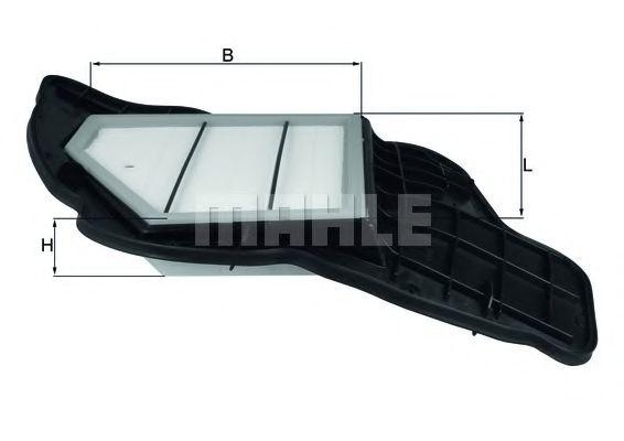 Воздушный фильтр MAHLE ORIGINAL LX 1684/5