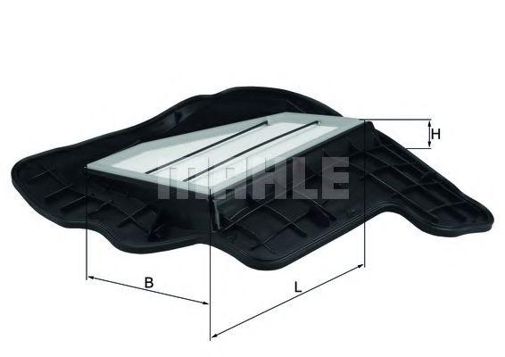 Воздушный фильтр MAHLE ORIGINAL LX 1685/5