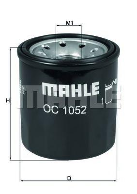Масляный фильтр MAHLE ORIGINAL OC 1052
