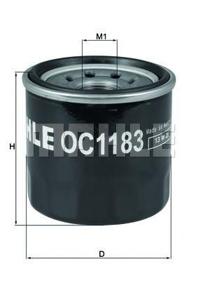 Масляный фильтр MAHLE ORIGINAL OC 1183