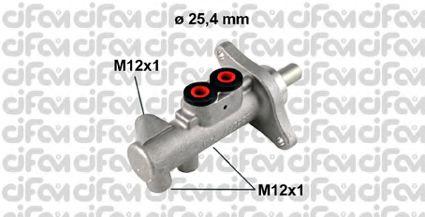 Главный тормозной цилиндр CIFAM 202-609