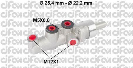 Главный тормозной цилиндр CIFAM 202-662