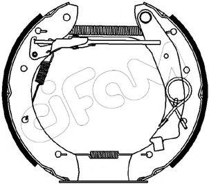 Тормозные колодки CIFAM 151-140