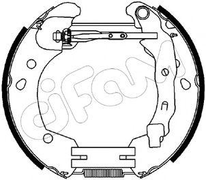 Тормозные колодки CIFAM 151-231