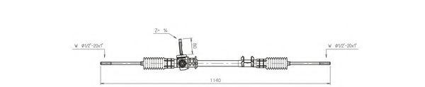 Рулевой механизм GENERAL RICAMBI FO4005