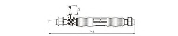 Рулевой механизм GENERAL RICAMBI OP4036