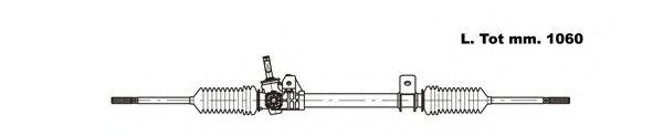 Рулевой механизм GENERAL RICAMBI RE4040