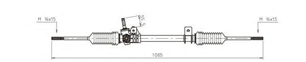 Рулевой механизм GENERAL RICAMBI RE4041