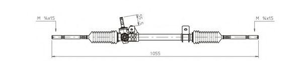 Рулевой механизм GENERAL RICAMBI RE4042