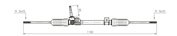 Рулевой механизм GENERAL RICAMBI RE4048