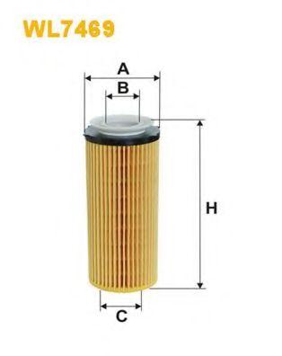 Масляный фильтр WIX FILTERS WL7469