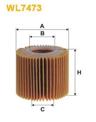 Масляный фильтр WIX FILTERS WL7473