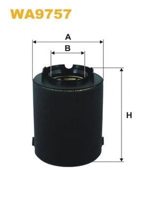 Воздушный фильтр WIX FILTERS WA9757