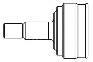Комплект ШРУСов GSP 809040