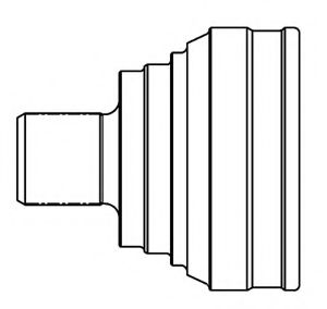 Комплект ШРУСов GSP 803011